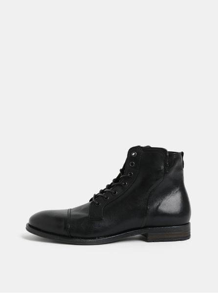 efae8927539 ALDO černé pánské kožené kotníkové boty 44