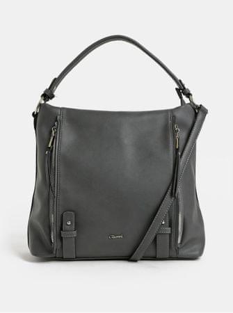 Gionni tmavě šedá kabelka přes rameno s detaily ve stříbrné barvě ... ae8b544dee2