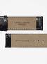 4 - LARSEN & ERIKSEN hodinky s černým koženým páskem