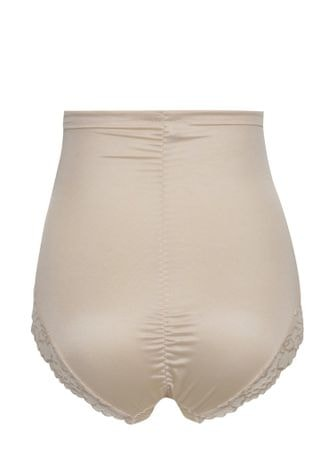 M Co béžové krajkové stahovací kalhotky s vysokým pasem 48 - Diskuze ... a110668f5f