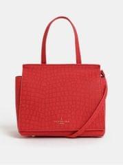Paul's Boutique červená kabelka s krokodýlím vzorem Kaila