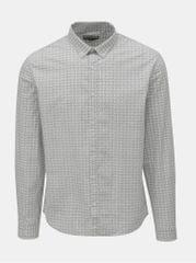 Shine Original bílo-šedá vzorovaná košile 4547e2903c