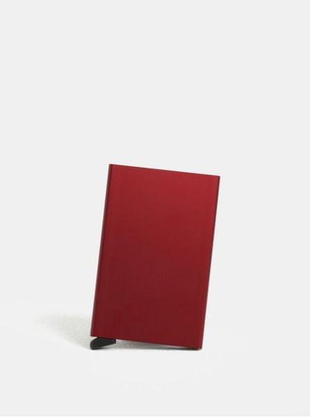 Secrid vínové hliníkové pouzdro na karty s RFID krytím Cardprotector