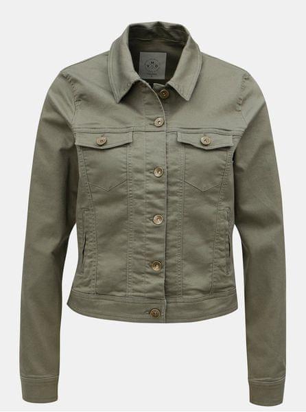 Vero Moda khaki krátká džínová bunda L