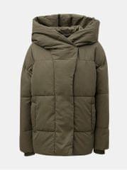4e00619613 Noisy May zelená prošívaná bunda s kapucí