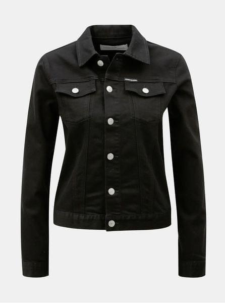 Calvin Klein Jeans černá dámská džínová bunda M