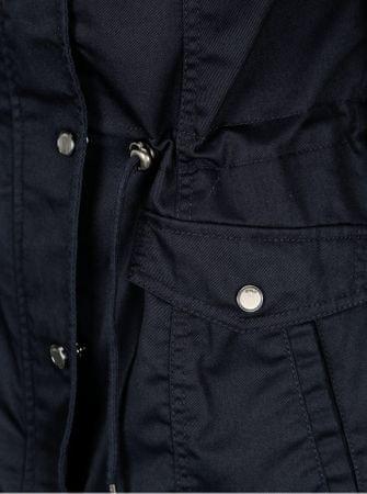 b52d5e06b3da ONLY tmavě modrá krátká parka s kapucí New Kate XS