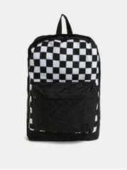Jack&Jones bílo-černý batoh s přední kapsouBasic
