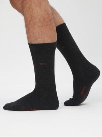 6a6e7f8e17 sada tří párů pánských ponožek v černé a červené barvě a v dárkové krabičce  ONE SIZE