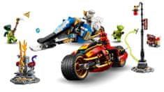 LEGO Ninjago 70667 Kaiova motorka s čepeľami a Zaneov snežný voz