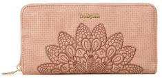 Desigual Mone Atila Fiona rózsaszín női pénztárca