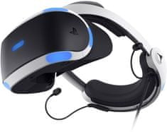 Sony Playstation VR v2 + kamera v2 + 5 her - VR Worlds, Skyrim VR, Doom VR, Astrobot, Wipeout (PS719786313)