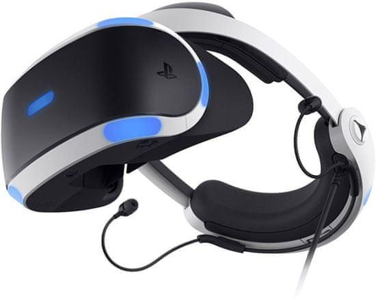 Sony VR v2 + Kamera v2 + 5 her - VR Worlds, Skyrim VR, Doom VR, Astrobot, Wipeout (PS719786313)