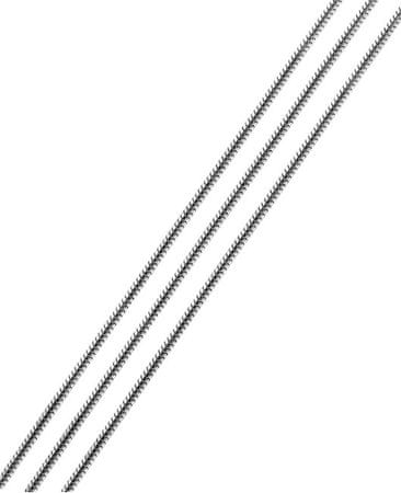 Brilio Silver Strieborná retiazka Hádek 38 cm 471 935 00188 - 3,37 g striebro 925/1000