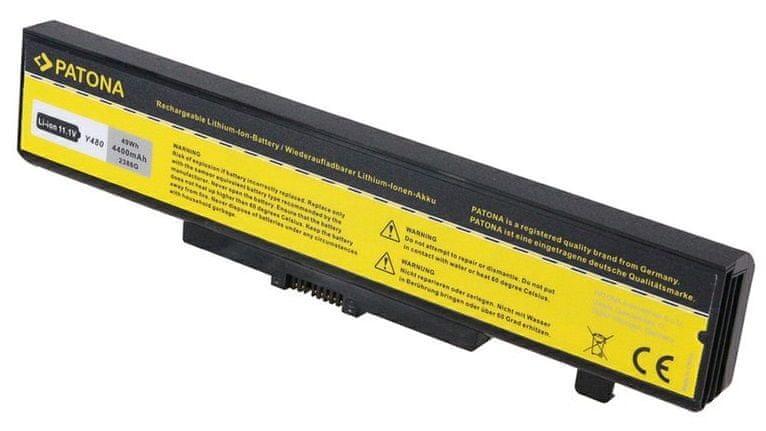 PATONA Baterie pro ntb LENOVO G580 4400 mAh Li-Ion 11,1 V PT2386