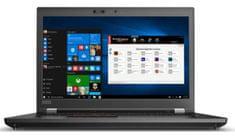 Lenovo prenosnik ThinkPad P72 i7-8750H/16GB/SSD512GB/P2000/17,3FHD/W10P (20MCS0JY00)