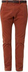 s.Oliver Mężczyźni terakota Wąskie spodnie o długości 32 pasa
