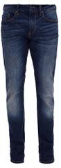 s.Oliver Mężczyźni ciemny niebieski rozciągliwe spodnie Slim długość 32