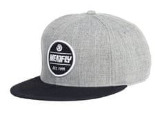 MEATFLY Troop A Snapback Cap Heather Grey
