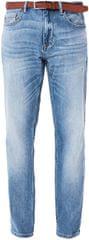 s.Oliver Spodnie męskie niebieski Obniżone długość 34