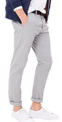 s.Oliver Koszulka męska slim szare spodnie o długości 32