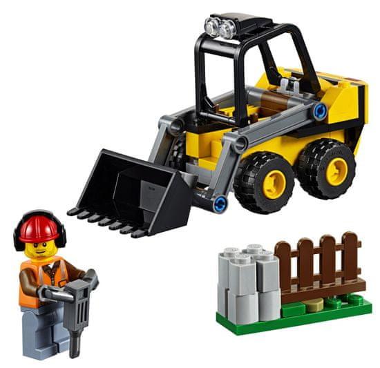 LEGO City Great Vehicles 60219 Gradbeni nakladalnik
