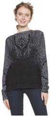 Desigual Női pulóver Jers Edimburgo Negro 18WWJFAU 2000
