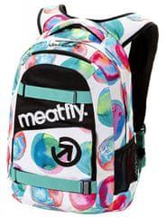 MEATFLY Exile 3 Backpack D- Blossom Backpack White