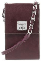 Tamaris Női crossbody kézitáska Annika Crossbody Bag XS 2783182-544 Bordeaux Comb