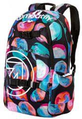 MEATFLY Hátizsák Basejumper 4 Backpack E-Blossom Black