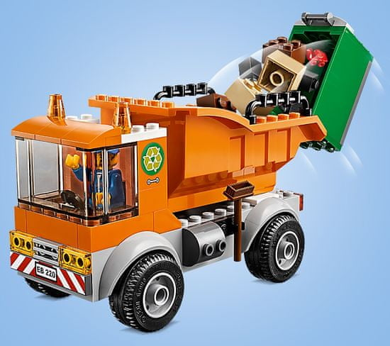 LEGO City Great Vehicles 60220 Smetarski tovornjak
