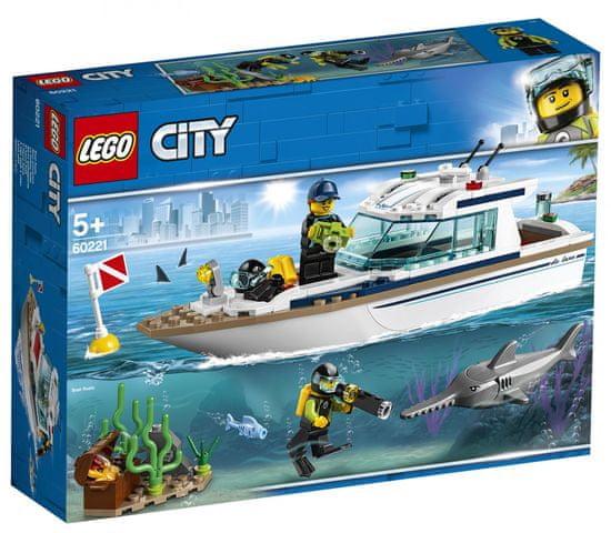 LEGO City Great Vehicles 60221 Potapljaška jahta