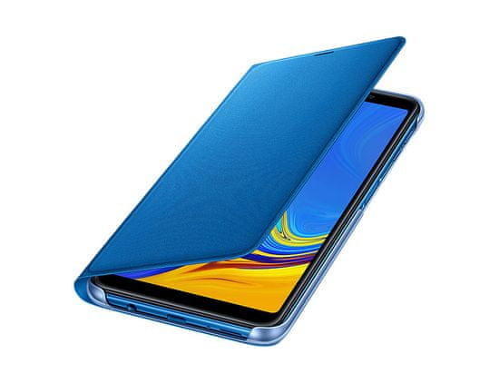 Samsung preklopna torbica za Samsung Galaxy A7 2018, modra