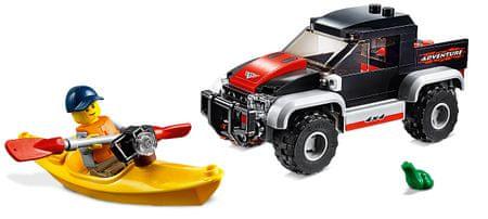 LEGO City Great Vehicles 60240 Przygody kajakowe