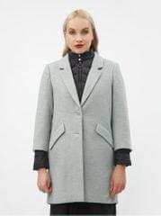 Vero Moda světle šedý kabát s odnímatelnou lehkou bundou 2v1 Two