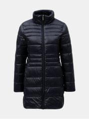 Dorothy Perkins tmavě modrý prošívaný kabát 97c88293612
