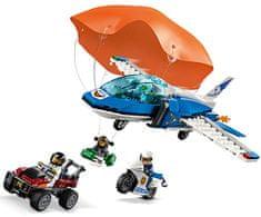 LEGO City Police 60208 Aresztowanie spadochroniarza