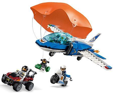 LEGO City Police 60208 Zatčení zloděje s padákem