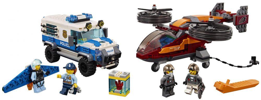 06b3554aa LEGO City Police 60209 Letecká policie a loupež diamantu