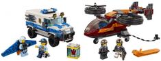 LEGO City Police 60209 Letecká polície a lúpež diamantu
