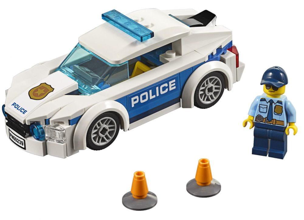 LEGO City Police 60239 Policajné auto