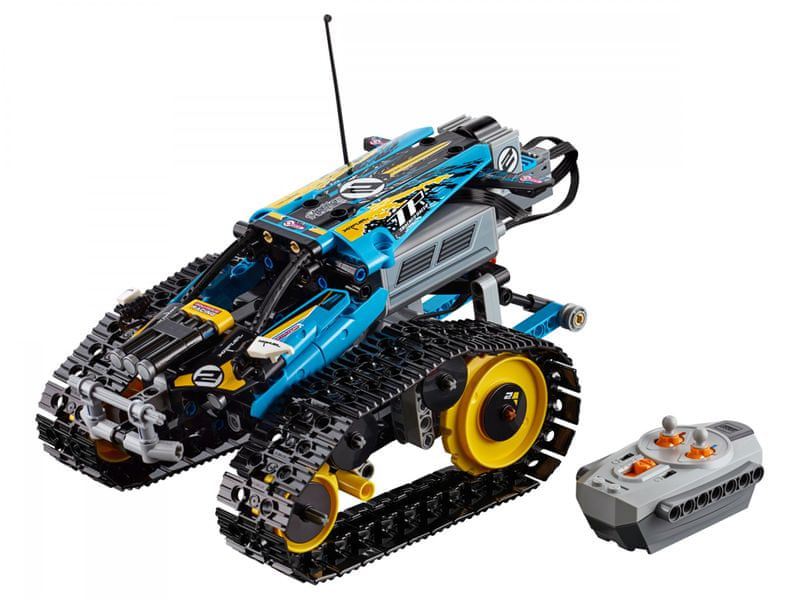 LEGO Technic 42095 Kaskadérské závodní auto na dálkové ovládání