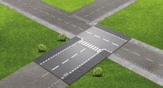 LEGO City Supplementary 60236 Rovná cesta s križovatkou