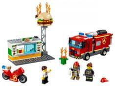 LEGO City 60214 Reševanje restavracije s hitro prehrano