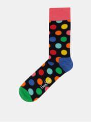 Happy Socks tmavě modré puntíkované ponožky Big Dot 0843c8112e