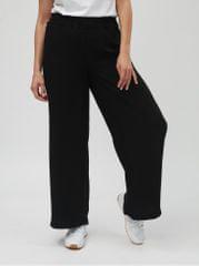 Vero Moda černé volné kalhoty s vysokým pasem Nim Wide 8c881027c0