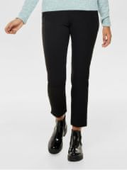 ONLY černé zkrácené kalhoty s gumou v pase