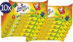 LINTEO Vlhčené ubrousky Kids školní - 10 x 15 ks