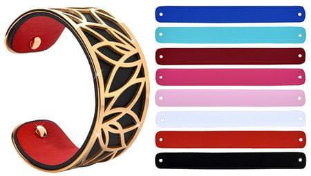 Troli Acél karkötő cserélhető színekkel 31 mm X.