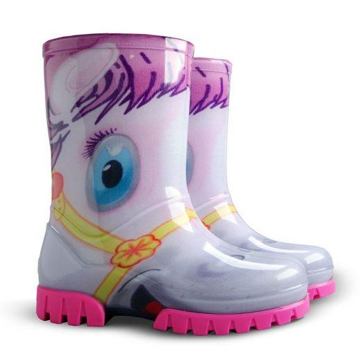 Demar Dívčí holínky Twister Print HA Pony